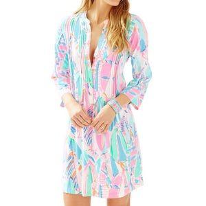 Lilly Sarasota Pintuck Tunic Dress